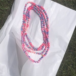 NWOT Lilly Pulitzer fabric necklace.